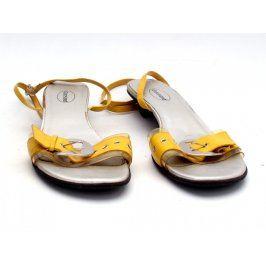 Dámské sandále Graceland žluté