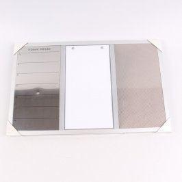 Magnetická tabule Tchibo 3v1