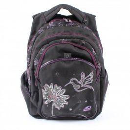 Školní batoh Walker Kolibřík černofialový