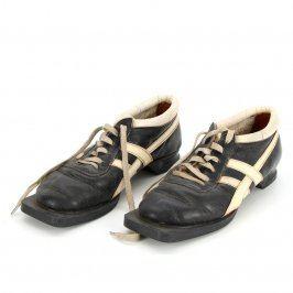 Běžkařské boty Botas černé s bílými proužky