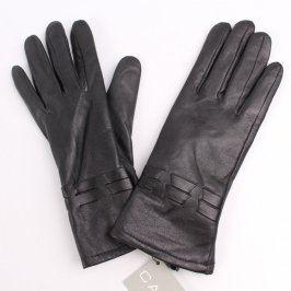 Dámské kožené rukavice Carla černé