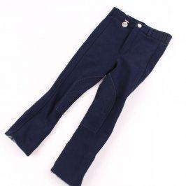 Dětské jezdecké kalhoty Helanca modré