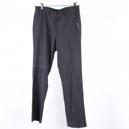 Pánské společenské kalhoty F&F černé