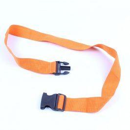 Pás s přezkou odstín oranžové