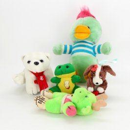 Mix 5 ks plyšových hraček