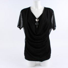Dámská elegantní halenka černá