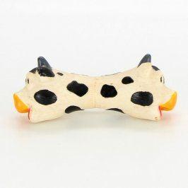 Pískací hračka pro psy ve tvaru kravičky
