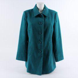 Dámský kabát EWM Pure Classics petrolejový