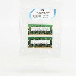 RAM DDR2 Hynix HYMP564S64CP6-Y5 2 x 512 MB