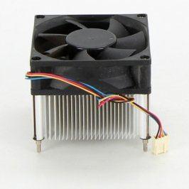 Chladič CPU 80 x 80 mm hliníkový 4 pin