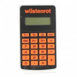 Kalkulačka Wüstenrot oranžovočerná