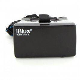 3D brýle IBlue Illusion Mask 3D černé