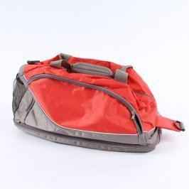 Sportovní taška LBVYR oranžovošedá
