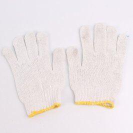 Pracovní rukavice bílo modré