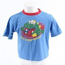 Dětské tričko Cherokee modré s monstrem