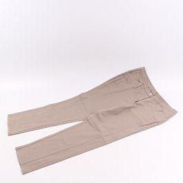 Dámské dlouhé kalhoty odstín hnědé