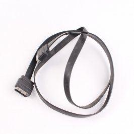 Kabel SCART plochý černý délka 200 cm
