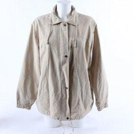 Dámská bunda Baty fashion odstín béžové