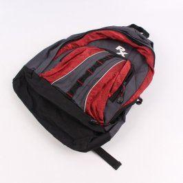 Turistický batoh PX šedo červený