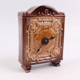 Stolní hodiny keramické