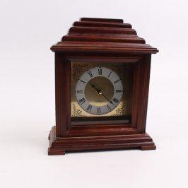 Dřevěné stolní hodiny QUARTZ