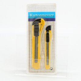Zalamovací nůž Kartonmesser 2 kusy