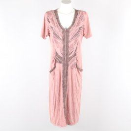 Dámské šaty Abea odstín růžové