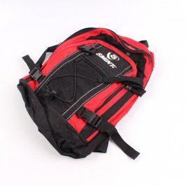 Turistický batoh Smint červeno černý