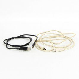 USB/mini USB kabel 100 a 160 cm