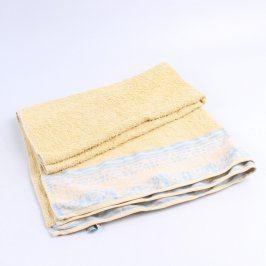 Bavlněný ručník Reddy žlutý