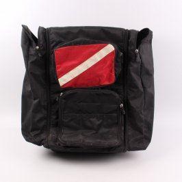 Cestovní kufr velký odstín černé