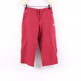 Dámské tříčtvrťáky Adidas odstín červené