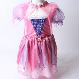Princeznovské šaty růžové