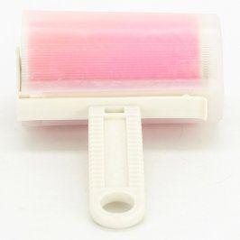 Váleček s fólií plastový růžový