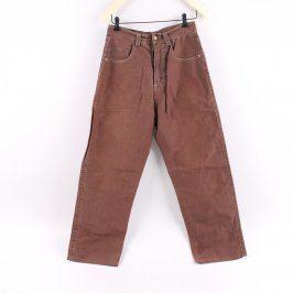 Pánské kalhoty Runner odstín hnědé