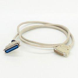 Paralelní kabel Centronics šedý délka 170 cm