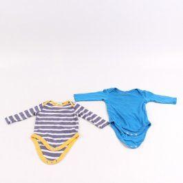 Dětská body Cherokee a Lupilu modrá