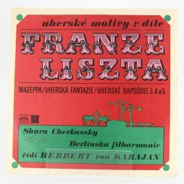 LP Uherské motivy v díle Franze Liszta