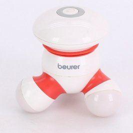 Masážní přístroj Beurer bílo červený