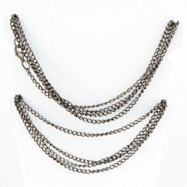 Dlouhý kovový náhrdelník 230 cm