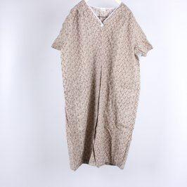 Dámské domácí šaty béžové