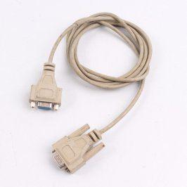 Prodlužovací kabel VGA bílý délka 180 cm