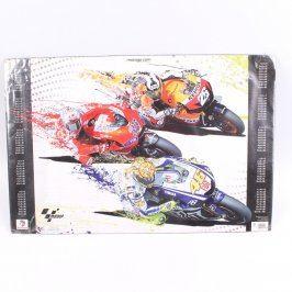 Plastová podložka Bonaparte s moto GP