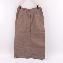 Dámská sukně Bushman odstín hnědé