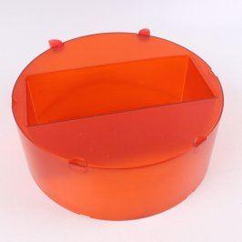 Plastové těleso oranžové