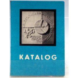 Katalog Aerofilatelistická výstava HK 1977