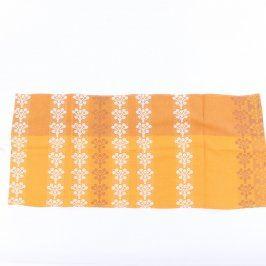 Utěrka oranžovo-žlutá 33 x 78 cm