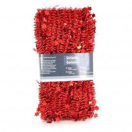 Vánoční dekorace červený řetěz