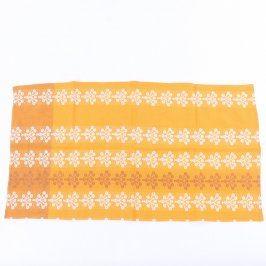 Utěrka oranžová 78 x 41 cm
