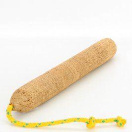 Textilní hračka pro psy hnědá